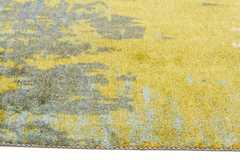 City-Monet Stunning Olive Green Rug-RUG HOME