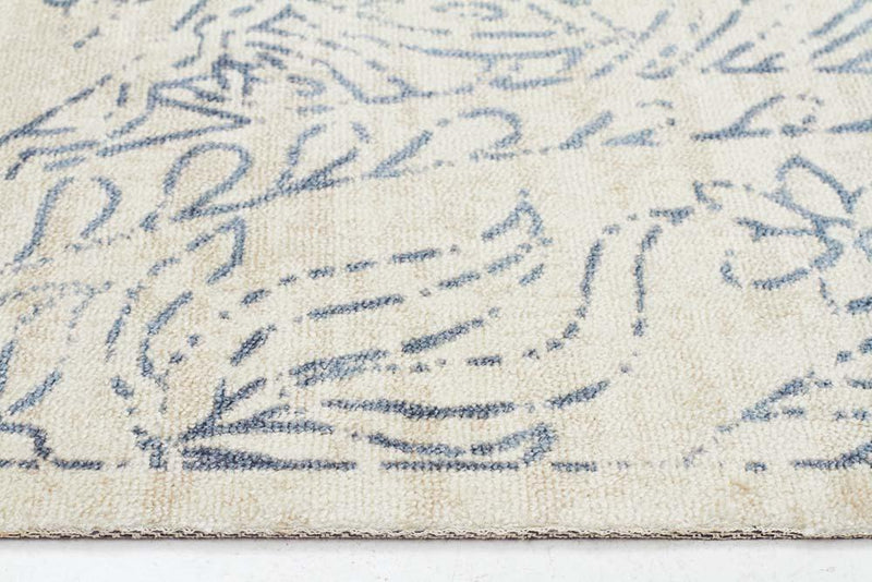 City-Origins Modern Blue Rug-RUG HOME