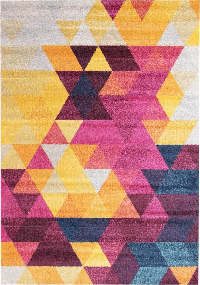 Dimensions-Divinity Triangle Multi Modern Rug-RUG HOME