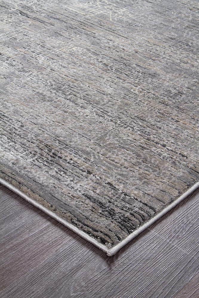 Drift-Drift Nisa Transitional Rug Grey Charcoal Ivory-RUG HOME