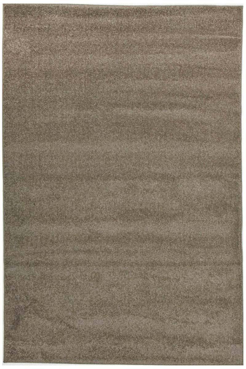 Elements-Dense Plain Stone Coloured Rug-RUG HOME