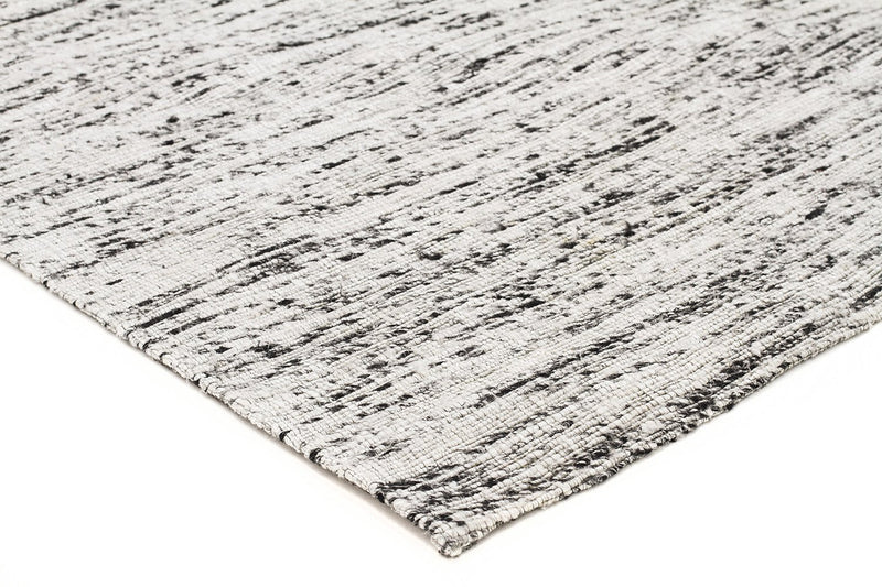 Escape-Eliza Stunning Flat Woven Rug Silver-RUG HOME