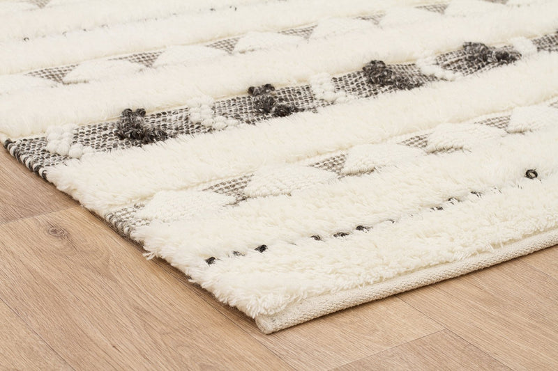 Everest-Fusion Link Ivory Rug-RUG HOME