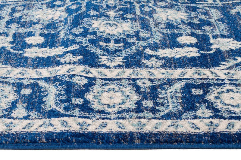 Evo Rect-Release Navy Transitional Rug-RUG HOME