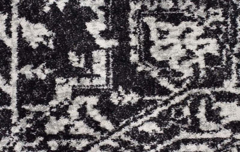 Evo Rect-Scape Charcoal Transitional Rug-RUG HOME