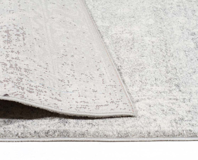 Evo Rect-Shine Silver Transitional Rug-RUG HOME