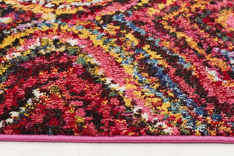 Gemini-Chindi Modern Multi Coloured Rug-RUG HOME