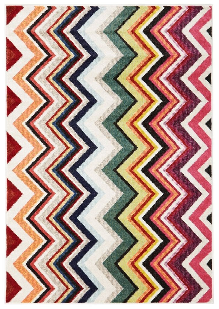 Gemini-Loti Modern Multi Coloured Rug-RUG HOME