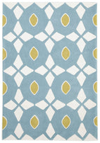 Gold-Blue and Yellow Nest Rug-RUG HOME