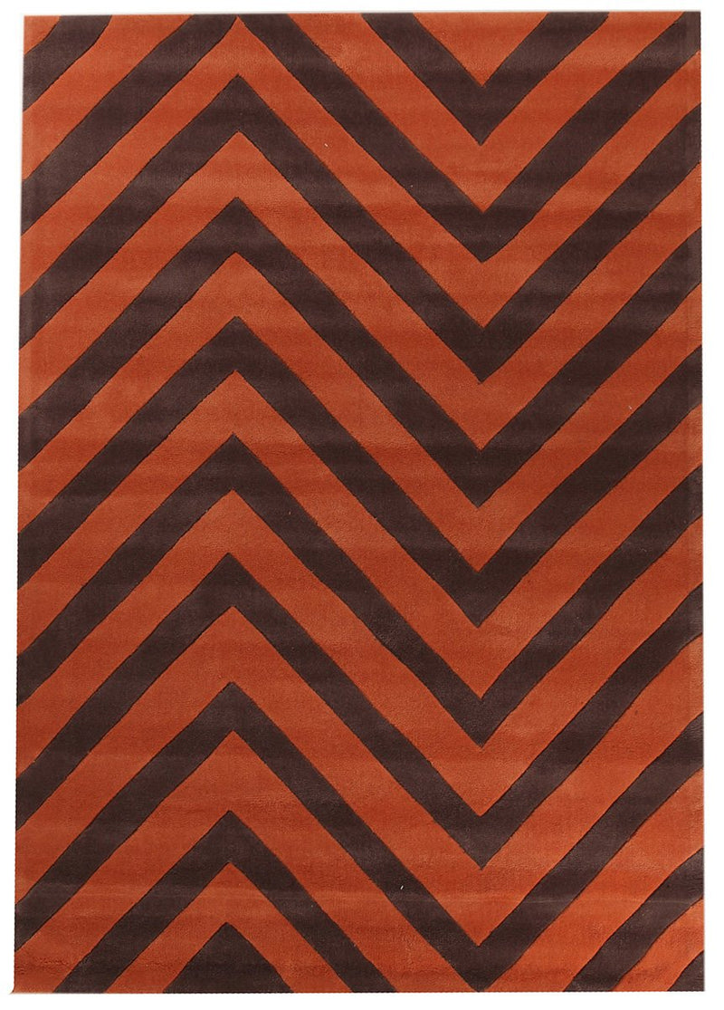 Gold-Chevron Jaffa Rug-RUG HOME