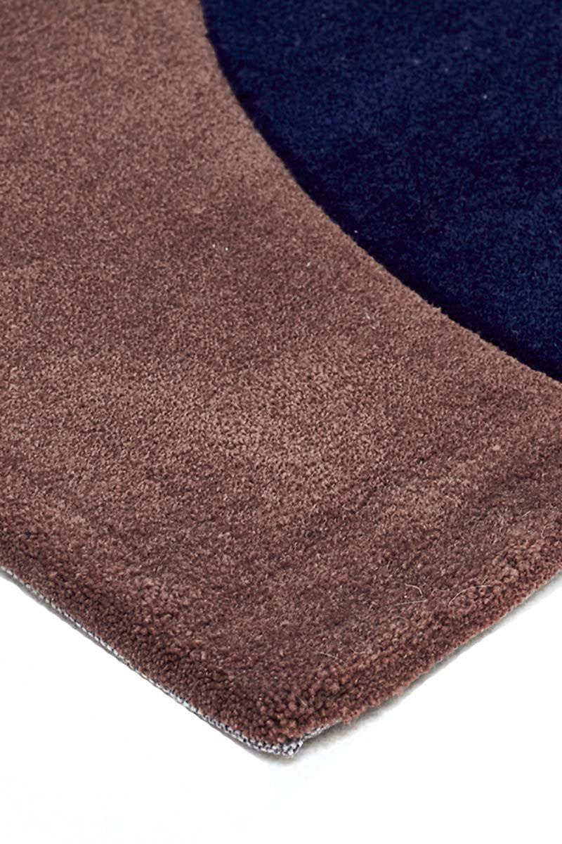 Gold-Multi Brown Pebble Rug-RUG HOME