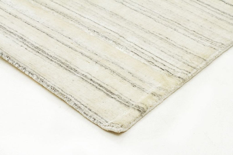 Havana-Havana Luxury Hand Knotted Rug Natural Fibres Light Grey-RUG HOME