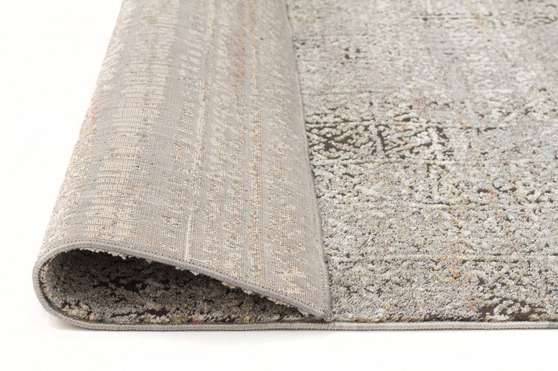 Jezebel-Fluid Evening Modern Grey Rug-RUG HOME