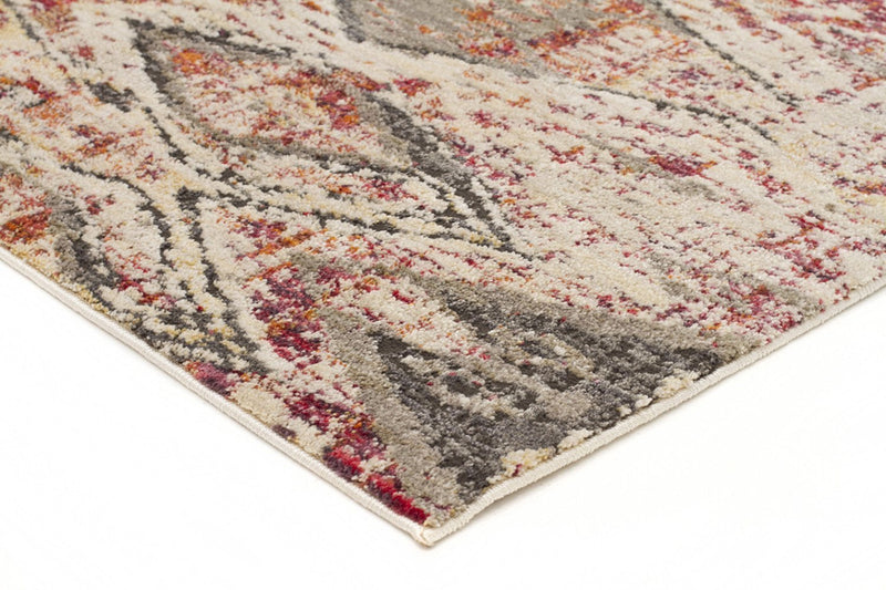 Jezebel-Fluid Sunset Modern Rust Rug-RUG HOME