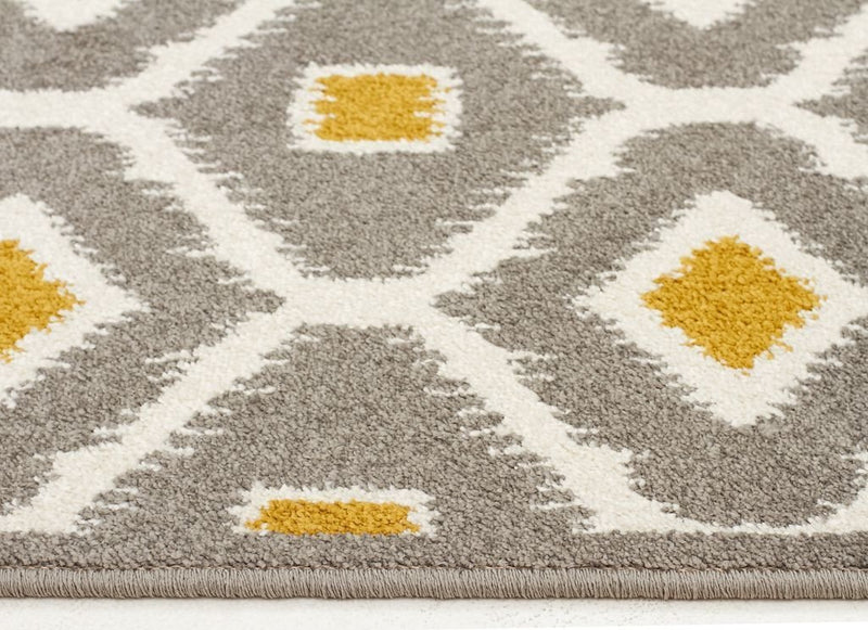 Marque-Indoor Outdoor Bianca Rug Grey Citrus-RUG HOME