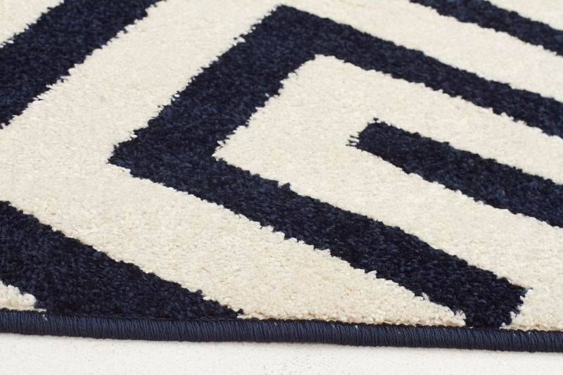 Marque-Indoor Outdoor Dolce Rug Navy-RUG HOME