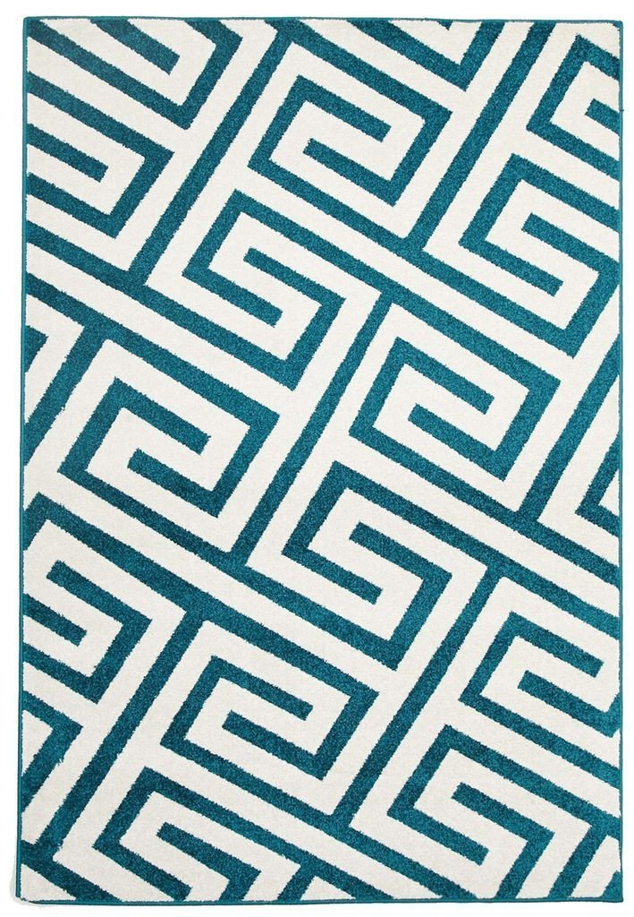 Marque-Indoor Outdoor Dolce Rug Peacock Blue-RUG HOME