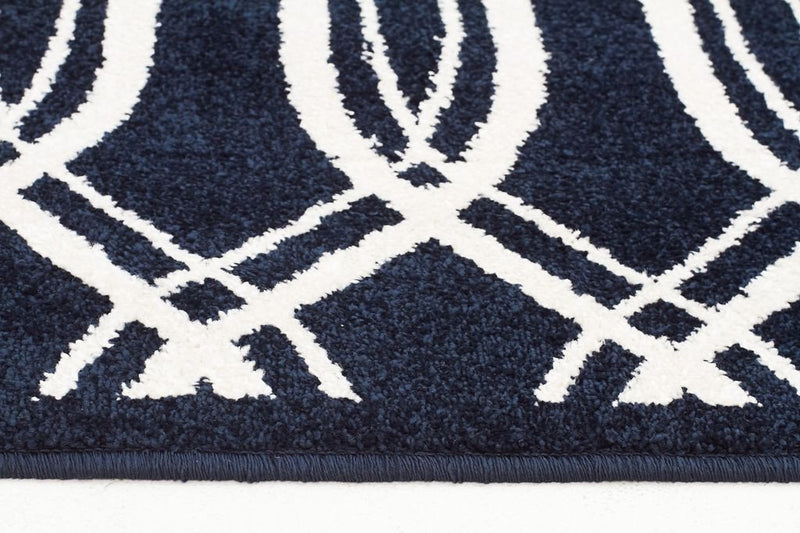 Marque-Indoor Outdoor Lucid Rug Navy-RUG HOME