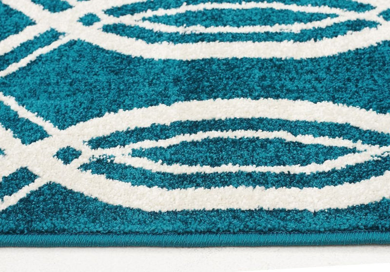 Marque-Indoor Outdoor Lucid Rug Peacock Blue-RUG HOME