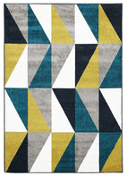 Marque-Indoor Outdoor Mica Rug Blue Citrus Grey-RUG HOME