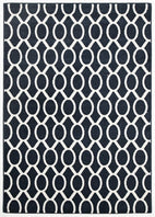 Marque-Indoor Outdoor Neo Rug Navy-RUG HOME