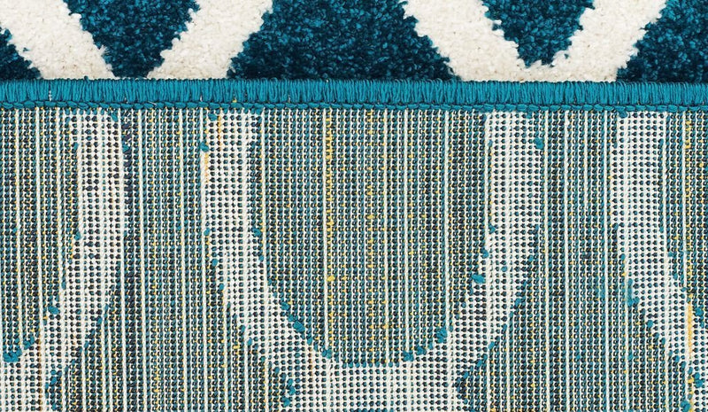 Marque-Indoor Outdoor Neo Rug Peacock Blue-RUG HOME