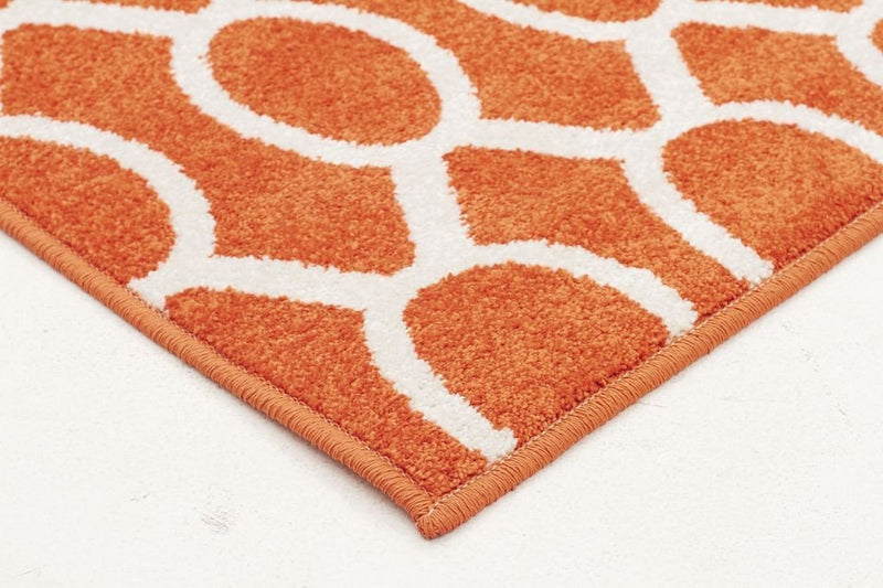 Marque-Indoor Outdoor Neo Rug Rust-RUG HOME