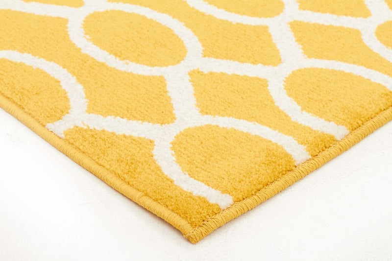 Marque-Indoor Outdoor Neo Rug Yellow-RUG HOME
