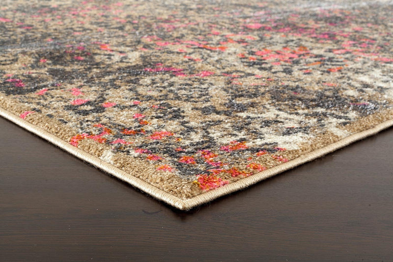 Medina-Danica Transitional Rug Soft Pink-RUG HOME