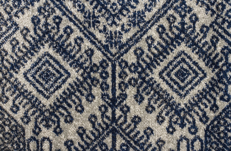 Mirage-Zelda Grey Navy Rug-RUG HOME