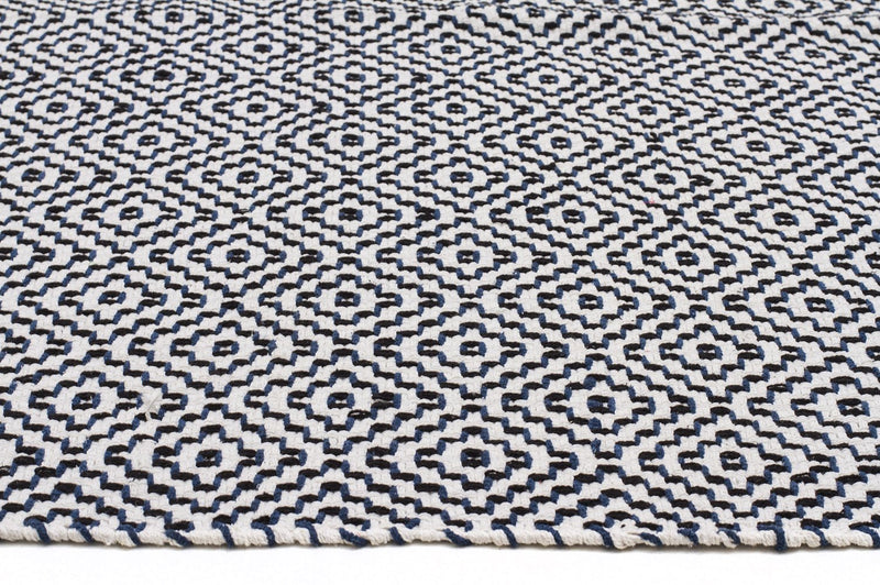 Modern-Carter Textured Modern Rug Navy-RUG HOME