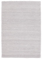 Modern-Finn Flat Woven Triangles Rug Grey-RUG HOME