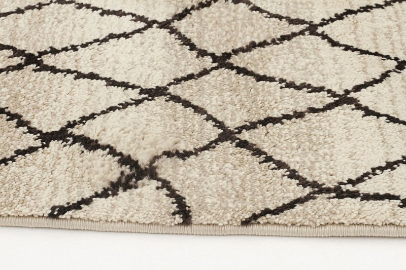 Morocco-Moroccan Web Design Rug Cream-RUG HOME