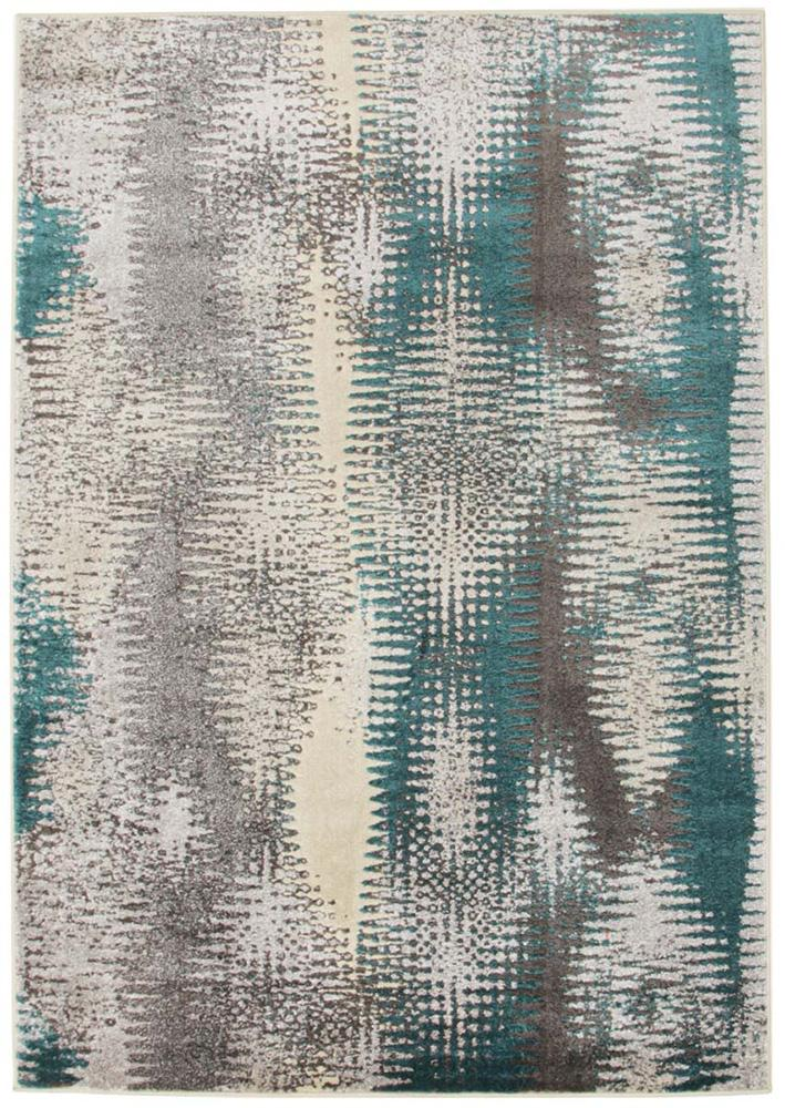Nitro-Hannah Matrix Rug Blue Grey-RUG HOME