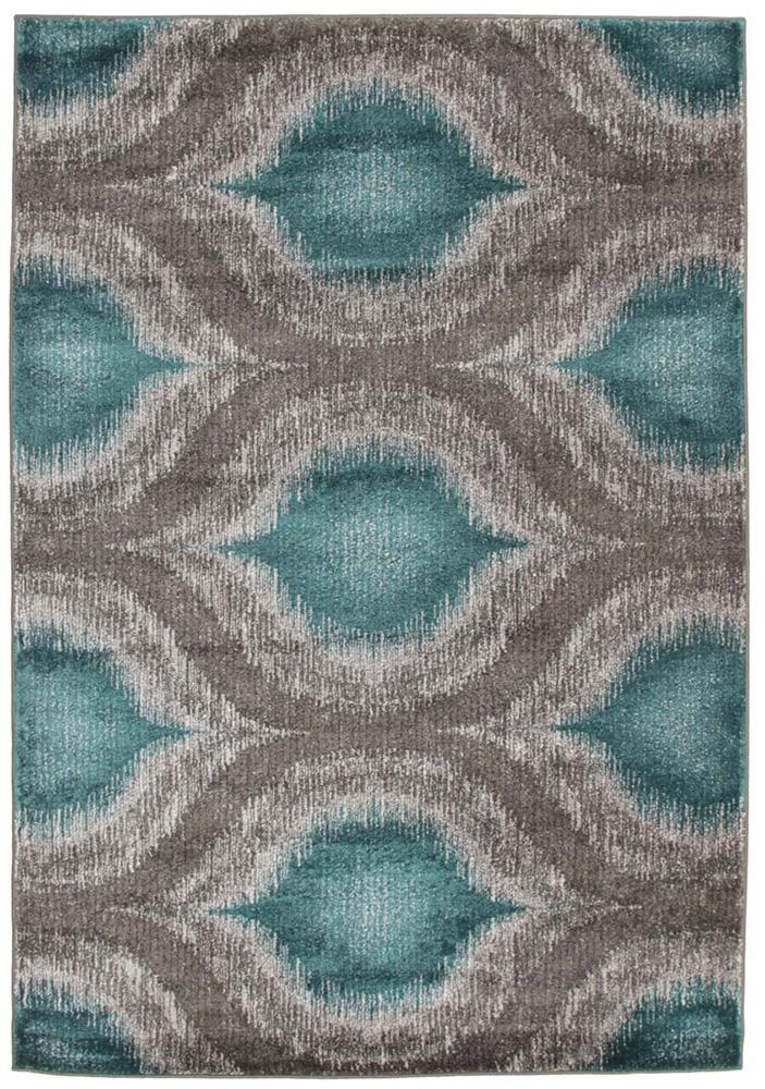 Nitro-Lucid Dream Modern Rug Blue-RUG HOME