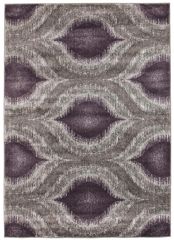 Nitro-Lucid Dream Modern Rug Purple-RUG HOME
