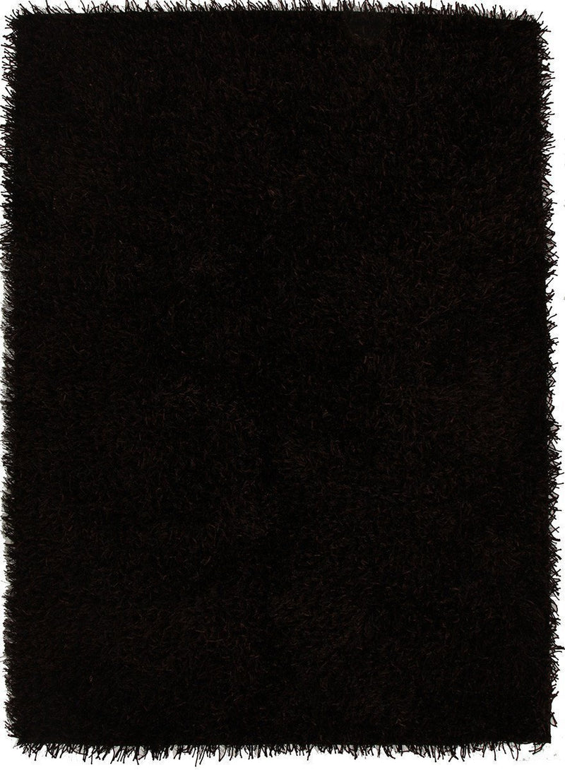 Orlando-Metallic Thick, Thin Shag Rug Choc Brown-RUG HOME