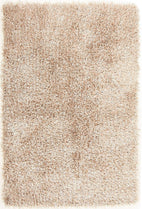 Orlando-Metallic Thick, Thin Shag Rug Cream-RUG HOME