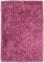Orlando-Metallic Thick, Thin Shag Rug Fusion Berry-RUG HOME