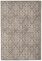 Outdoor-Hedge Indoor Outdoor Modern Grey Rug-RUG HOME