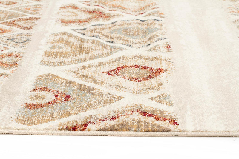 Oxford-Mayfair Contrast Rust Rug-RUG HOME