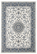 Palace-Palace Manal Oriental Rug White Blue-RUG HOME
