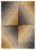 Prism-Molino Grey Gold Multi Coloured Textured Rug-RUG HOME
