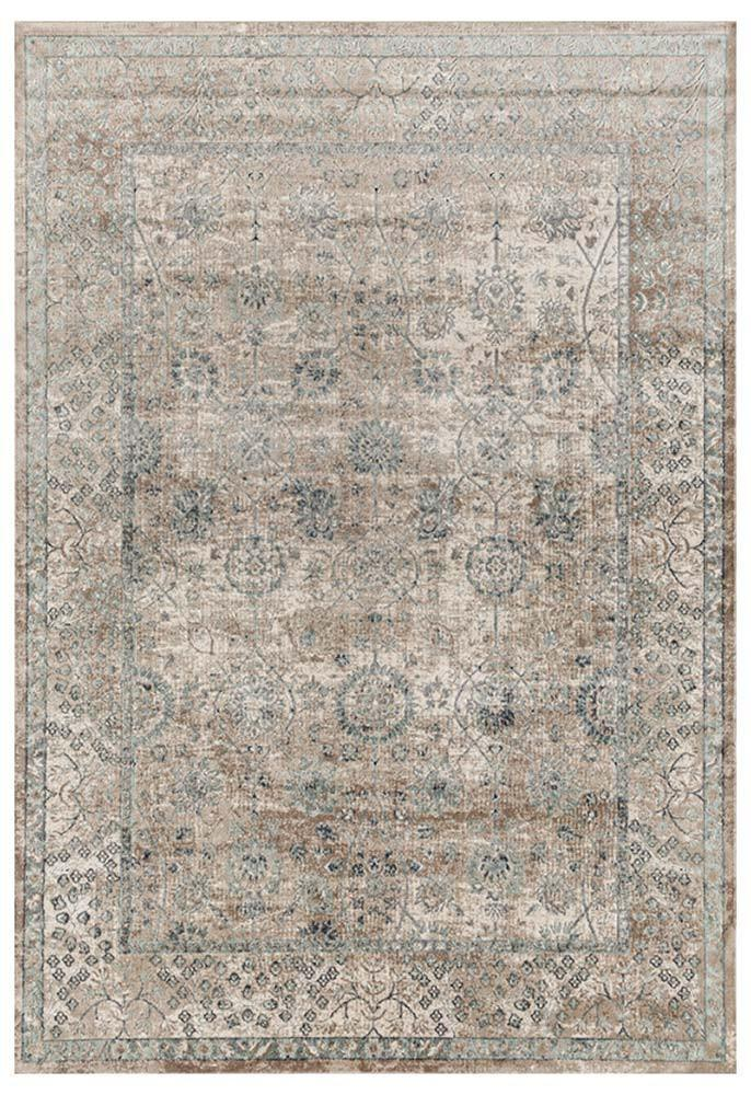 Providence-Esquire Vine Traditional Cream Rug-RUG HOME