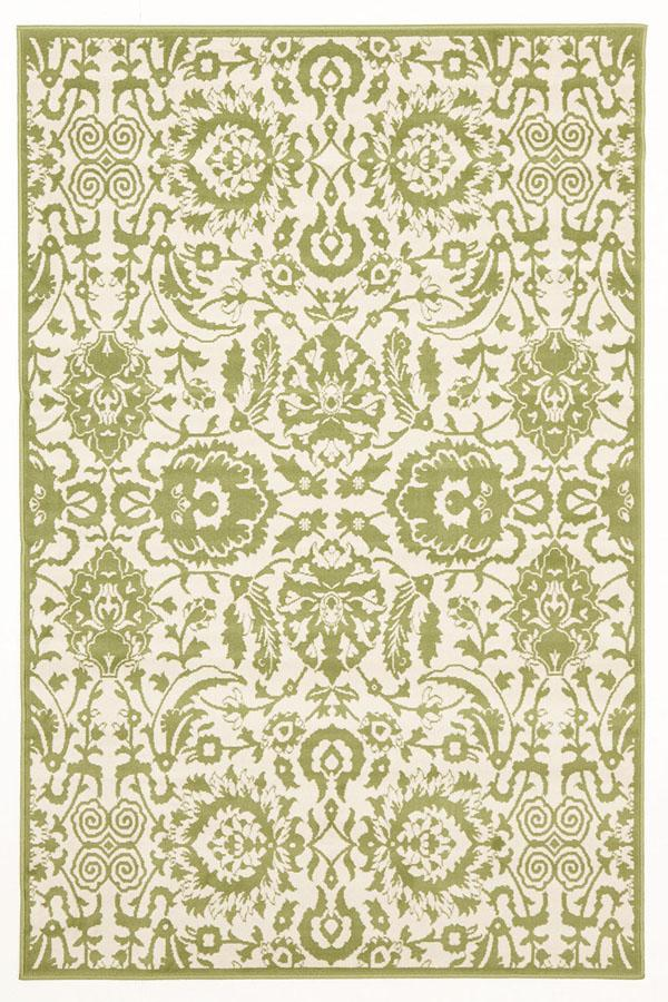 Silver BCF-Funky Lace Design Rug Lime-RUG HOME