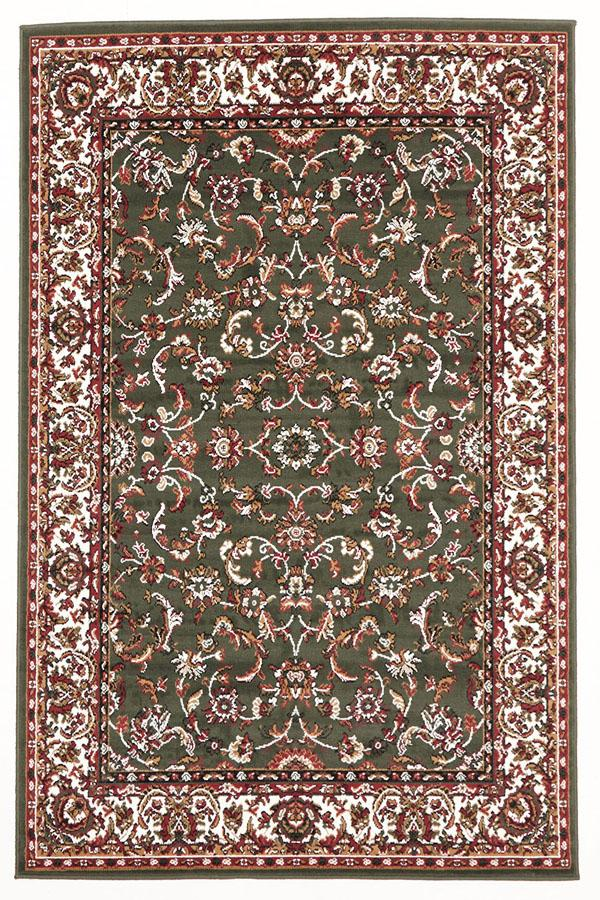 Silver BCF-Traditional All Over Pattern Rug Green-RUG HOME