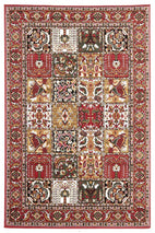 Silver BCF-Traditional Compartment Pattern Rug-RUG HOME