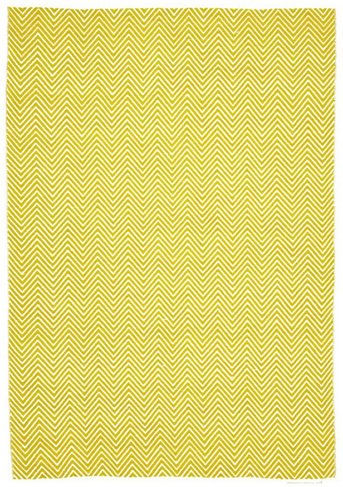Spirit-Villa Modern Herringbone Rug Yellow-RUG HOME