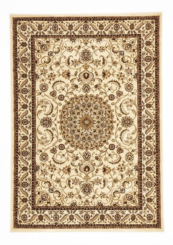 Sydney-Medallion Rug Ivory with Ivory Border-RUG HOME