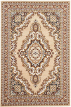 Traditional-Traditional Medallion Rug Beige-RUG HOME